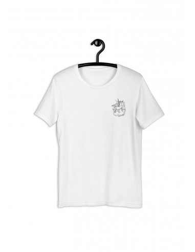 Tee-shirt Collection Équine Pégase Brodé