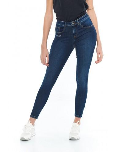 Pantalon Jean Femme Harcour Sangria...