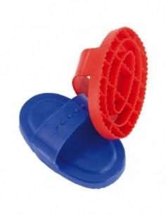 Étrille ovale plastique