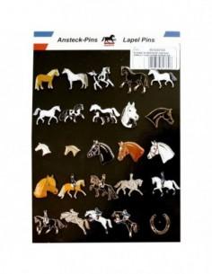 Pins motif cheval - modèle...